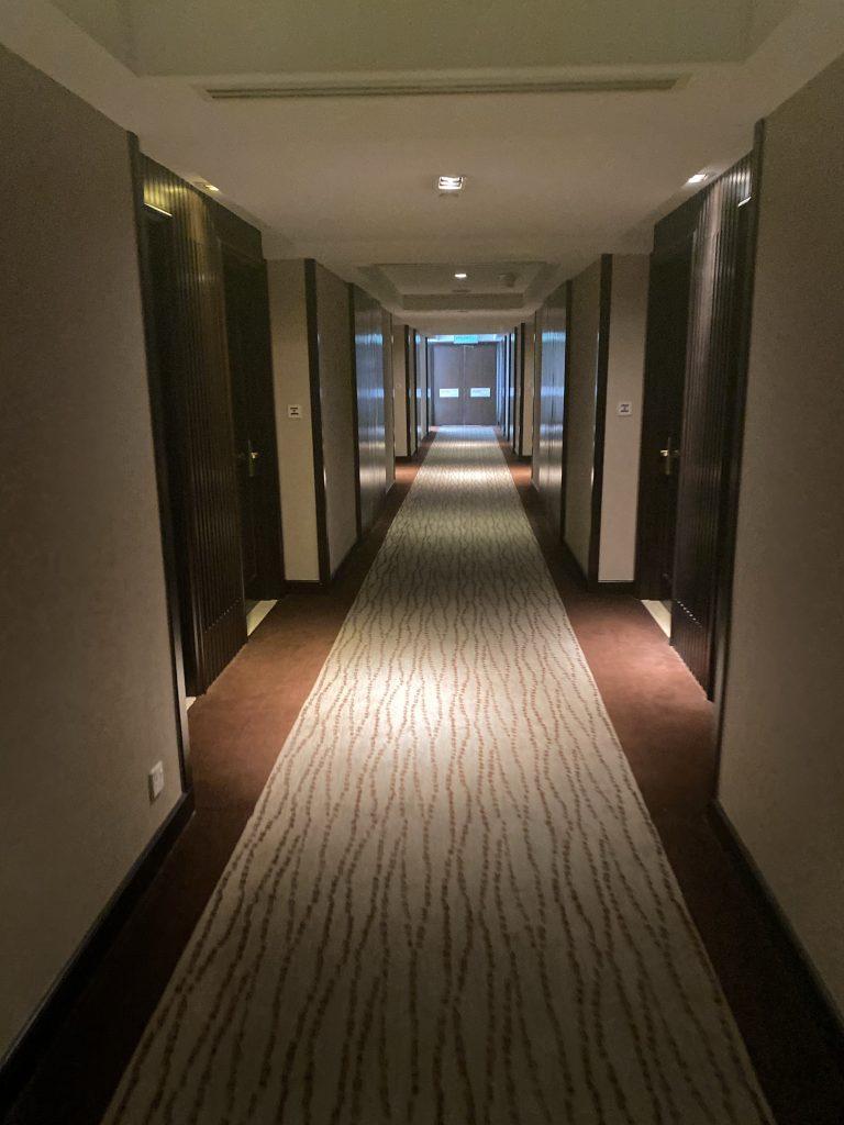 インターコンチネンタルホテル クアラルンプール 廊下