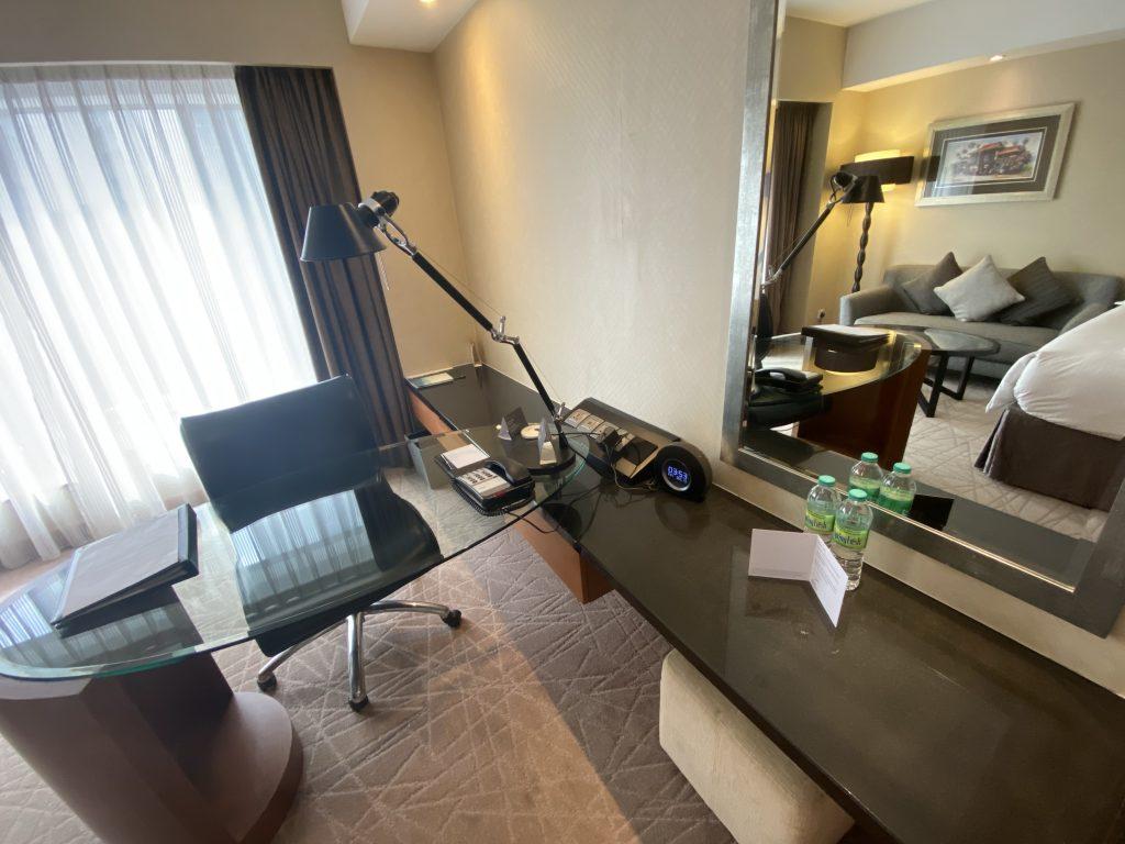 インターコンチネンタルホテル クアラルンプール クラブフロアのお部屋