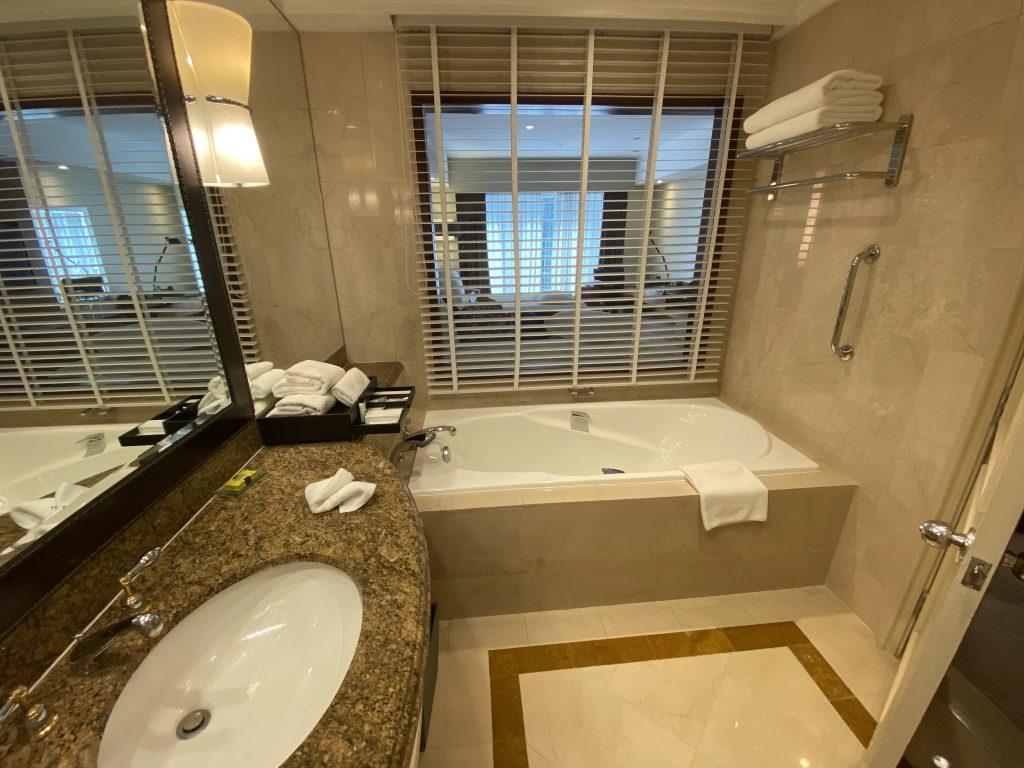 インターコンチネンタルホテル クアラルンプール バスルーム